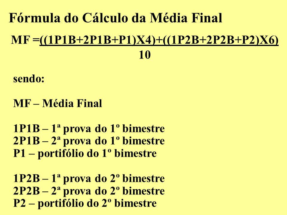 MF =((1P1B+2P1B+P1)X4)+((1P2B+2P2B+P2)X6)