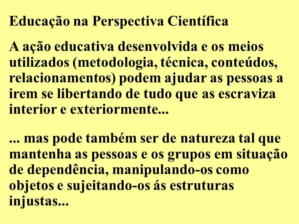 Educação na Perspectiva Científica