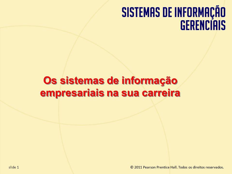Os sistemas de informação empresariais na sua carreira