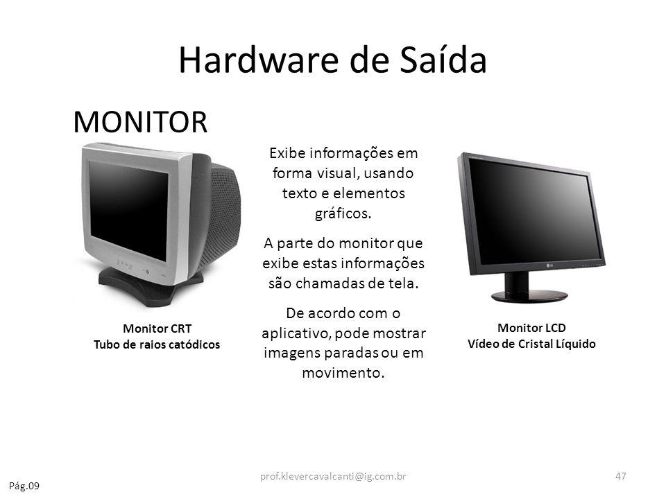Hardware de Saída MONITOR