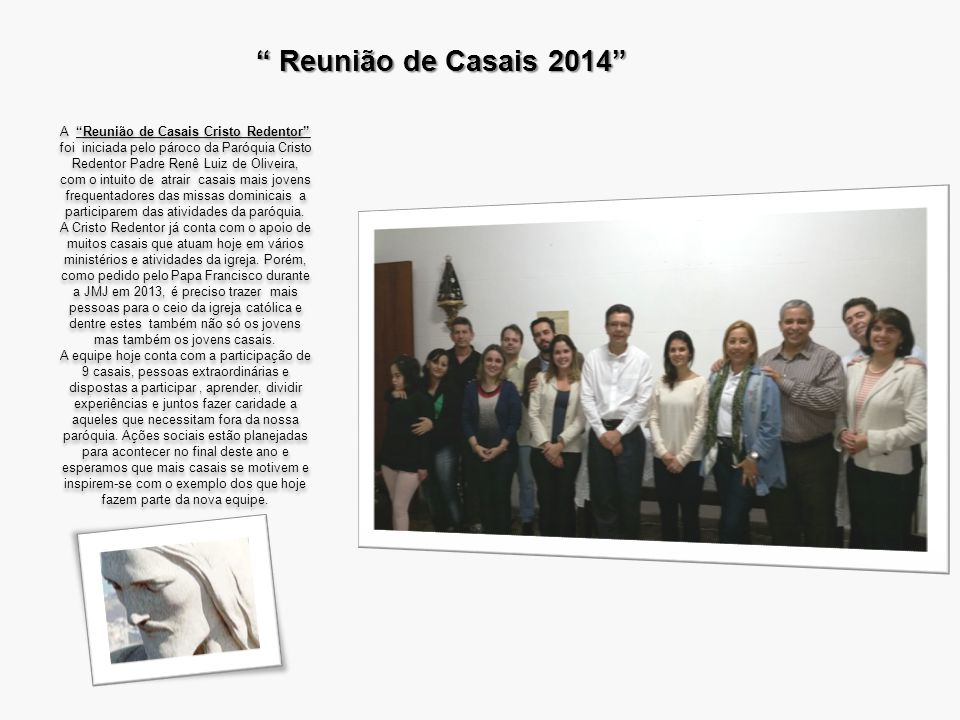 Reunião de Casais 2014