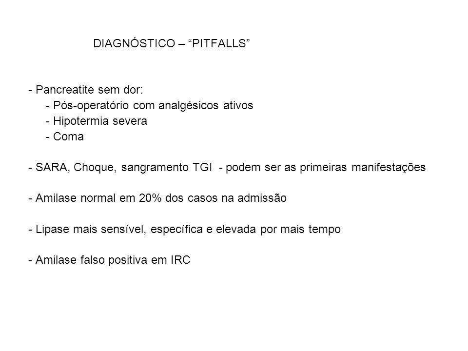 DIAGNÓSTICO – PITFALLS