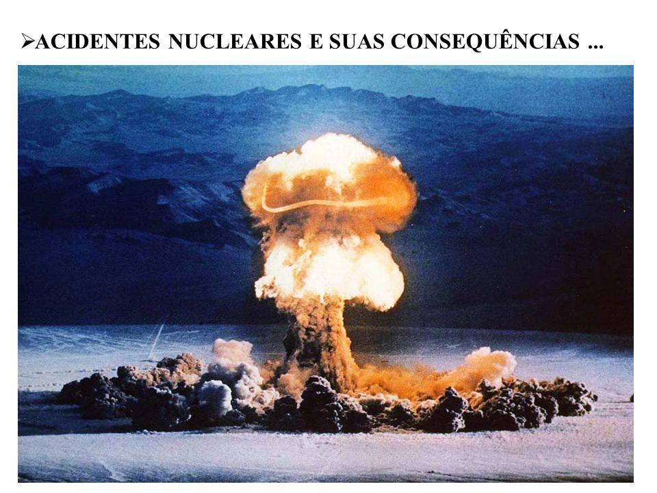 ACIDENTES NUCLEARES E SUAS CONSEQUÊNCIAS ...
