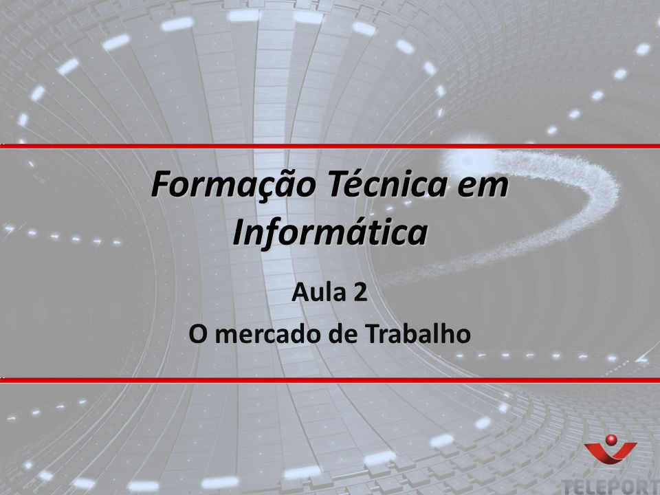 Formação Técnica em Informática
