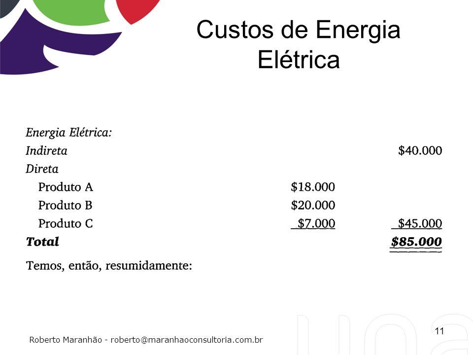 Custos de Energia Elétrica