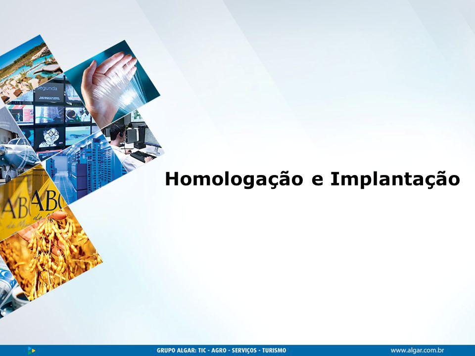 Homologação e Implantação