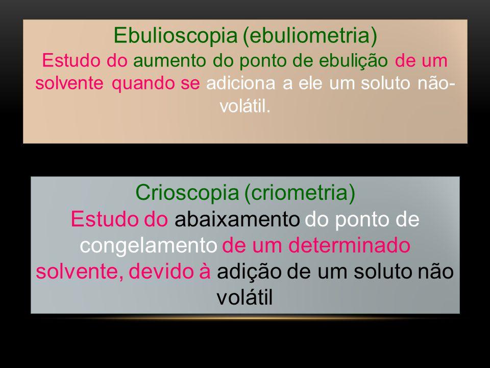 Ebulioscopia (ebuliometria)
