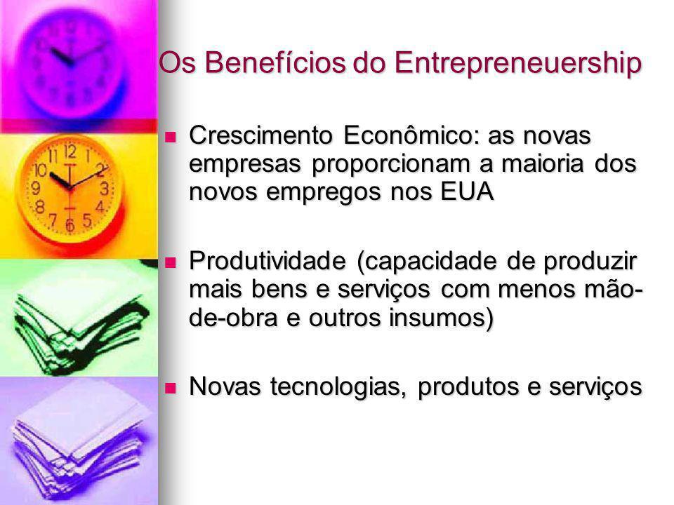 Os Benefícios do Entrepreneuership