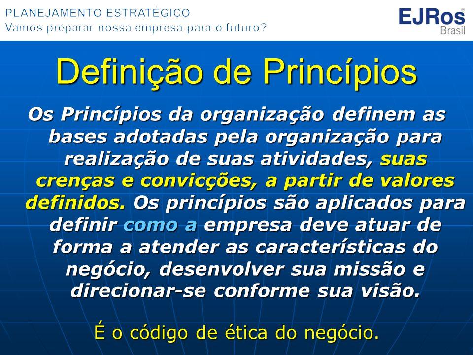 Definição de Princípios