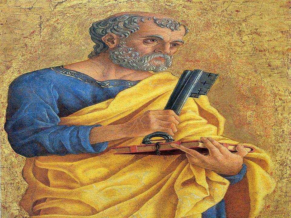 SÃO PEDRO: Simão era um pescador de Betsaida, estabelecido em Cafarnaum. Cristo lhe muda o nome e.