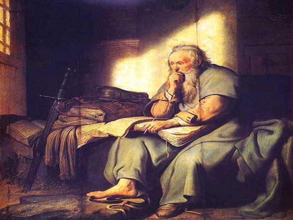 Na 2ª Leitura, PAULO: (também preso, prestes a morrer, ano 67), escreve um Testamento espiritual de sua vida.
