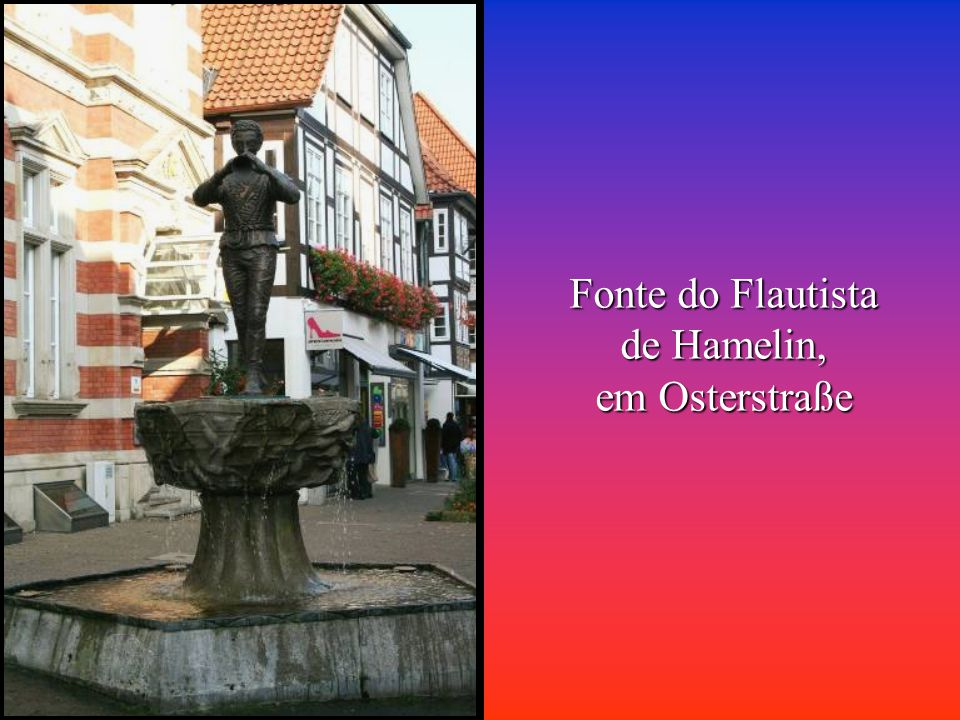 Fonte do Flautista de Hamelin,