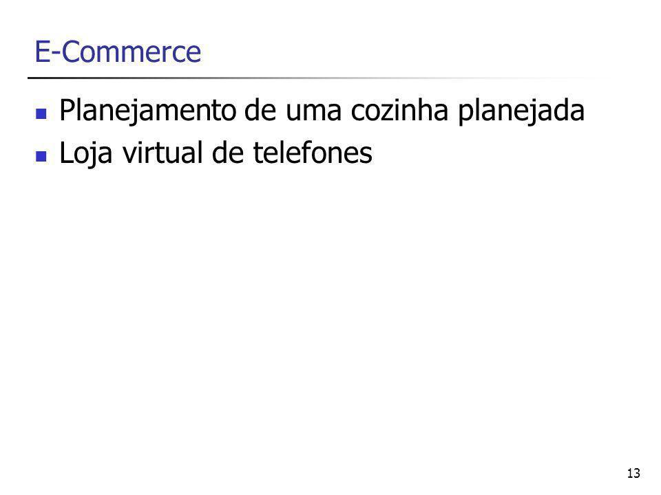 E-Commerce Planejamento de uma cozinha planejada Loja virtual de telefones