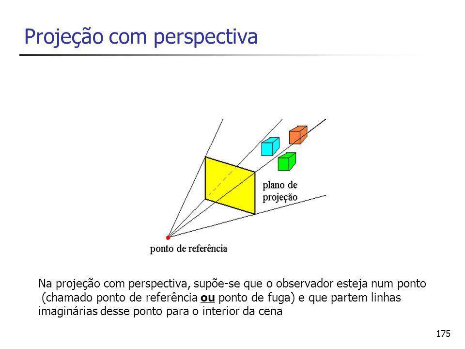 Projeção com perspectiva