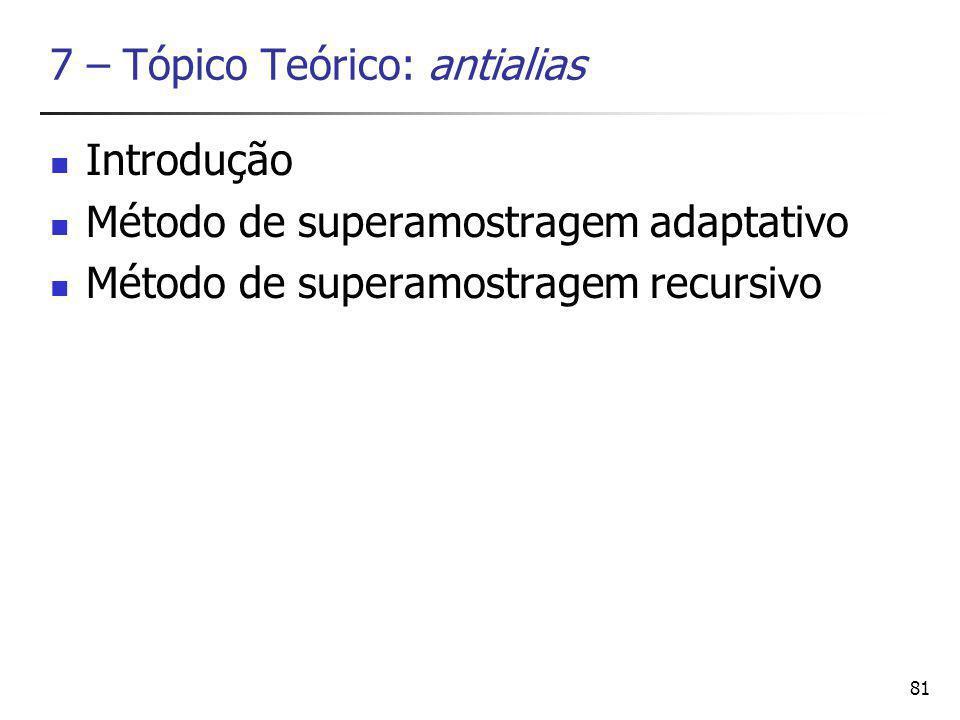 7 – Tópico Teórico: antialias