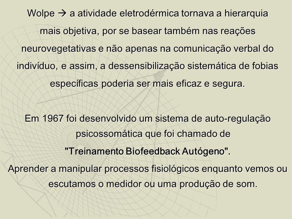 Treinamento Biofeedback Autógeno .