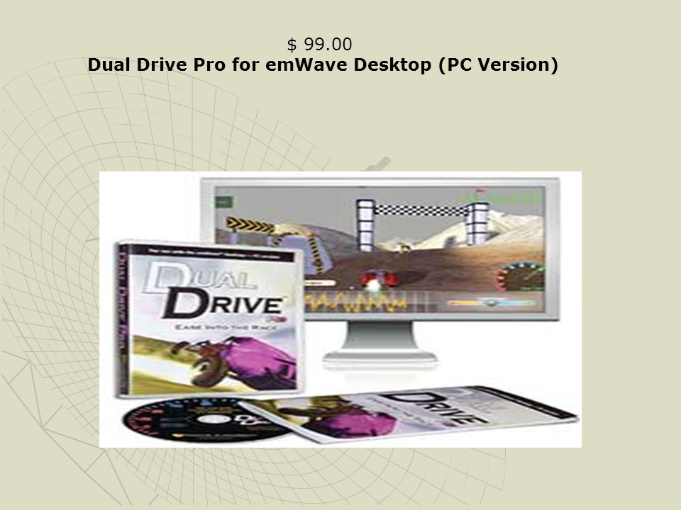 Dual Drive Pro for emWave Desktop (PC Version)