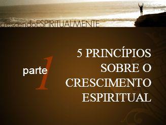 1 5 PRINCÍPIOS SOBRE O CRESCIMENTO ESPIRITUAL parte