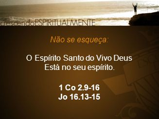 O Espírito Santo do Vivo Deus