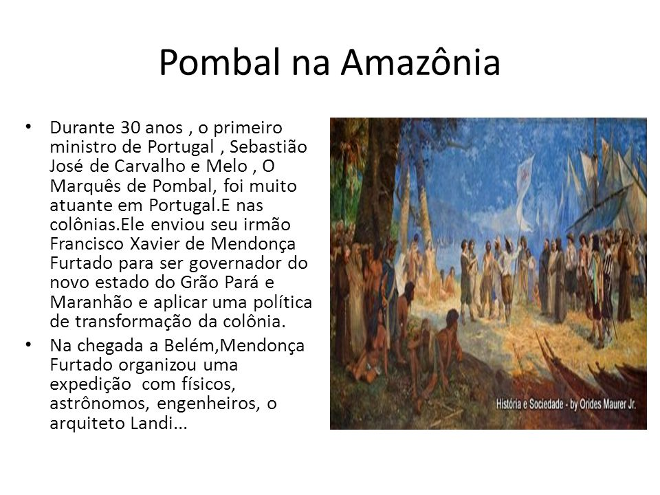 Pombal na Amazônia