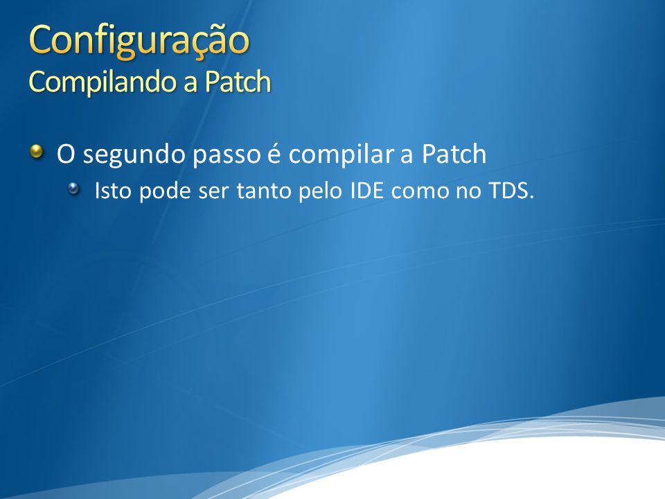 Configuração Compilando a Patch
