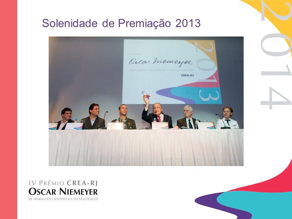Solenidade de Premiação 2013