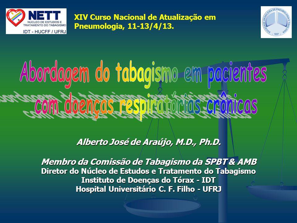 Abordagem do tabagismo em pacientes com doenças respiratórias crônicas