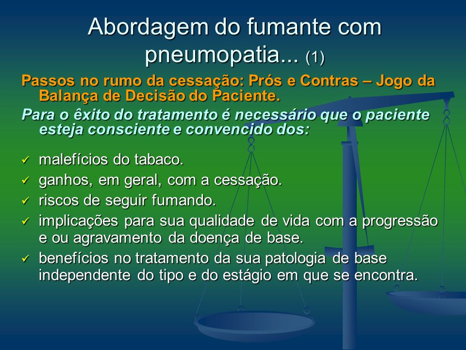Abordagem do fumante com pneumopatia... (1)