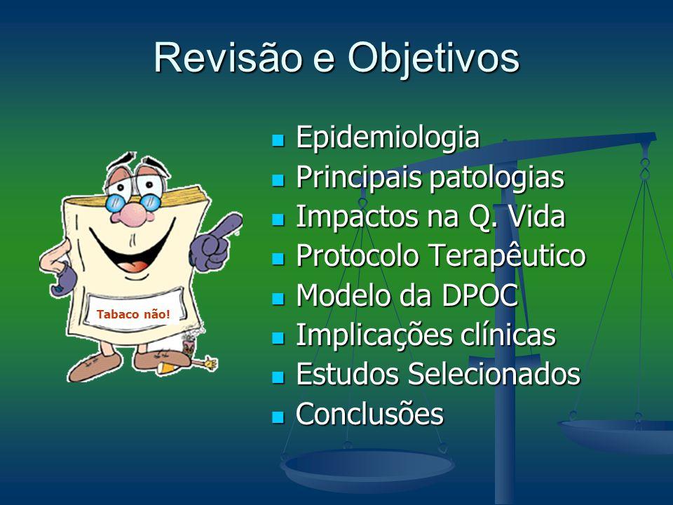 Revisão e Objetivos Epidemiologia Principais patologias