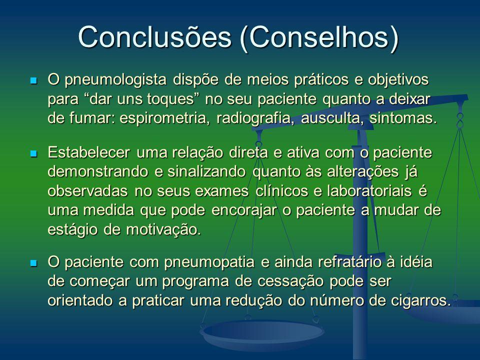 Conclusões (Conselhos)
