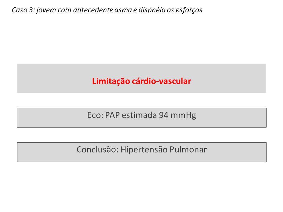 Limitação cárdio-vascular