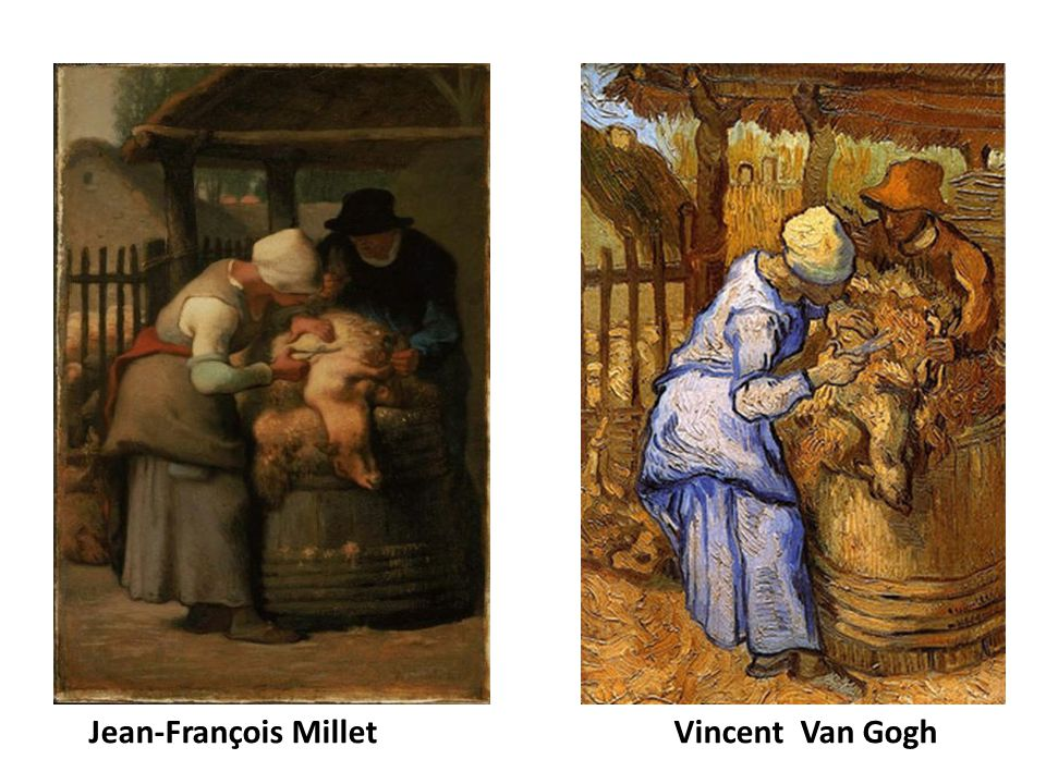Jean-François Millet Vincent Van Gogh