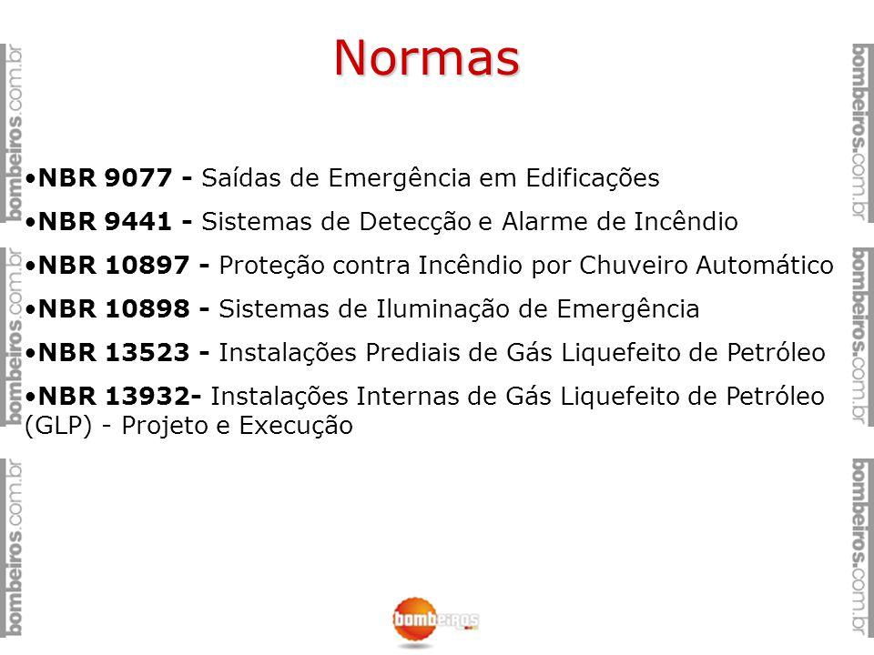 Normas NBR 9077 - Saídas de Emergência em Edificações