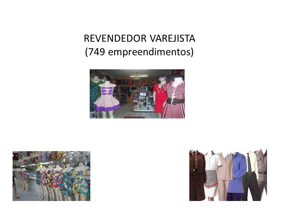 REVENDEDOR VAREJISTA (749 empreendimentos)