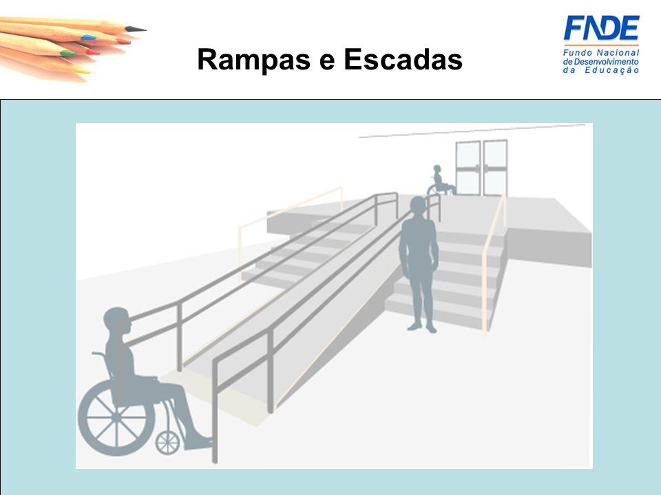 Rampas e Escadas