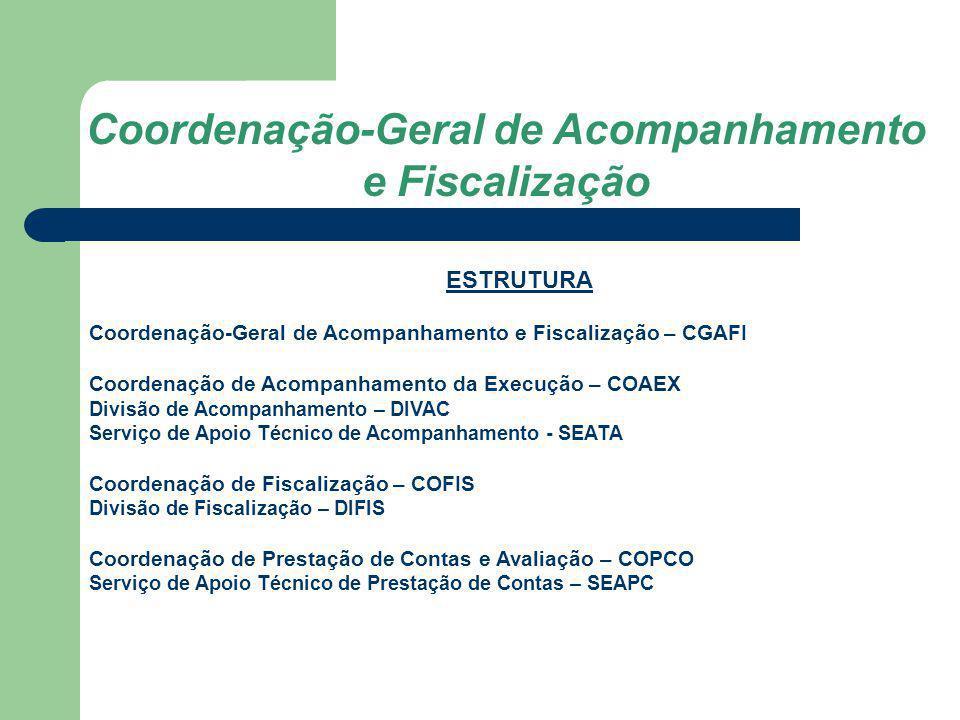 Coordenação-Geral de Acompanhamento e Fiscalização