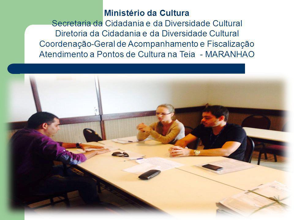 Atendimento a Pontos de Cultura na Teia - MARANHAO