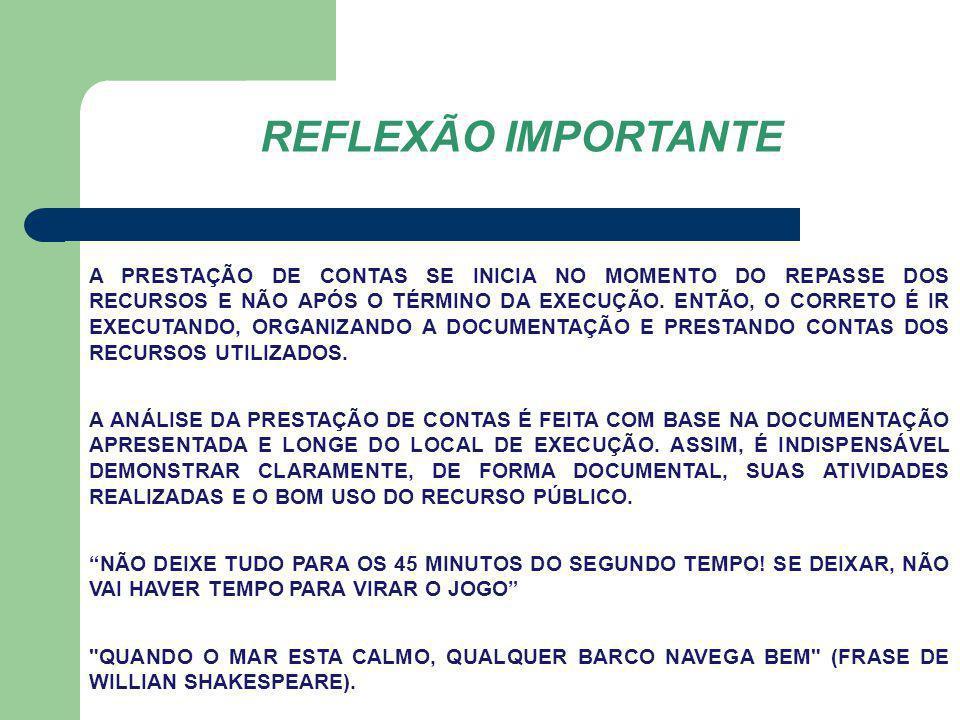 REFLEXÃO IMPORTANTE
