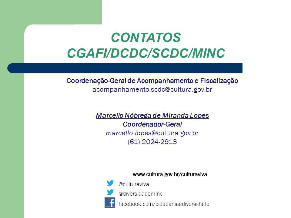 CONTATOS CGAFI/DCDC/SCDC/MINC