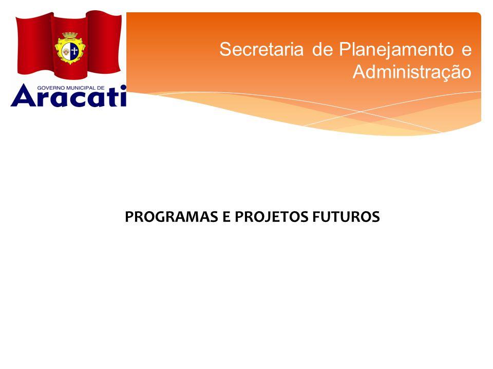 PROGRAMAS E PROJETOS FUTUROS