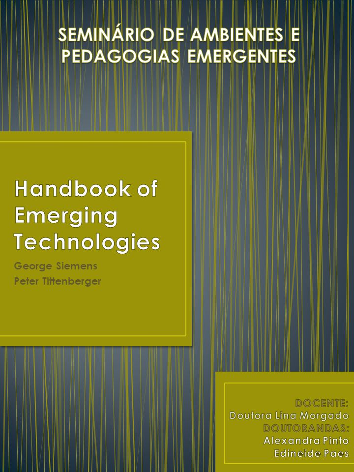Handbook of Emerging Technologies