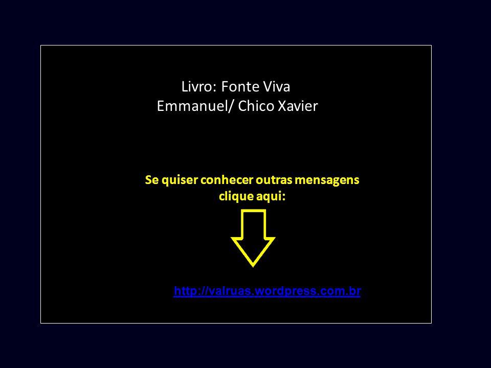 Livro: Fonte Viva Emmanuel/ Chico Xavier