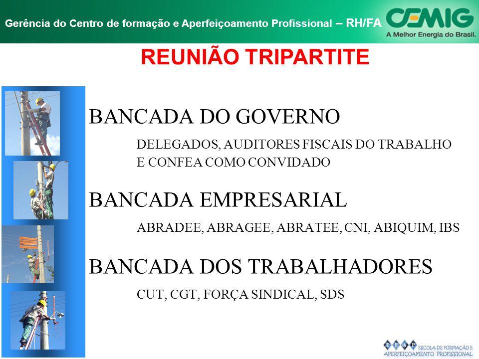 REUNIÃO TRIPARTITE