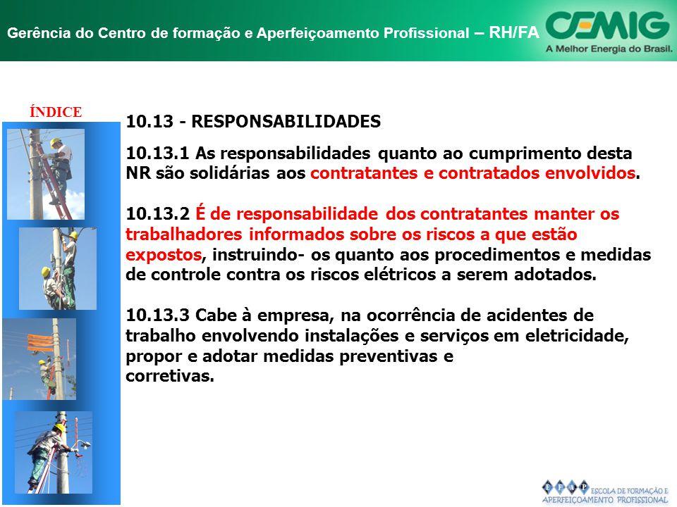 TÍTULO 10.13 - RESPONSABILIDADES