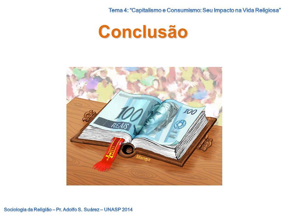 Tema 4: Capitalismo e Consumismo: Seu Impacto na Vida Religiosa