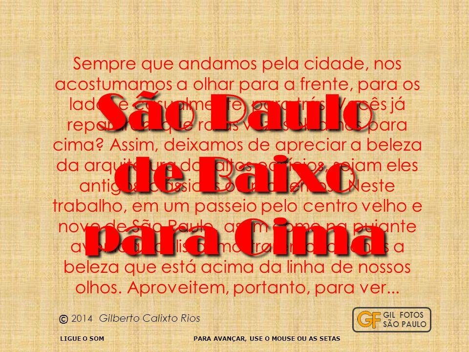 São Paulo de Baixo para Cima