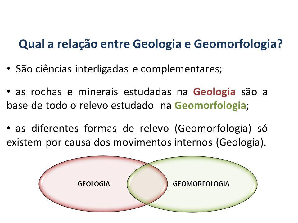Qual a relação entre Geologia e Geomorfologia