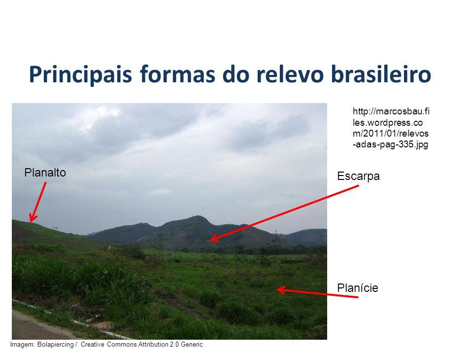 Principais formas do relevo brasileiro