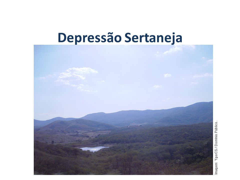 Depressão Sertaneja GEOGRAFIA, 7º Ano
