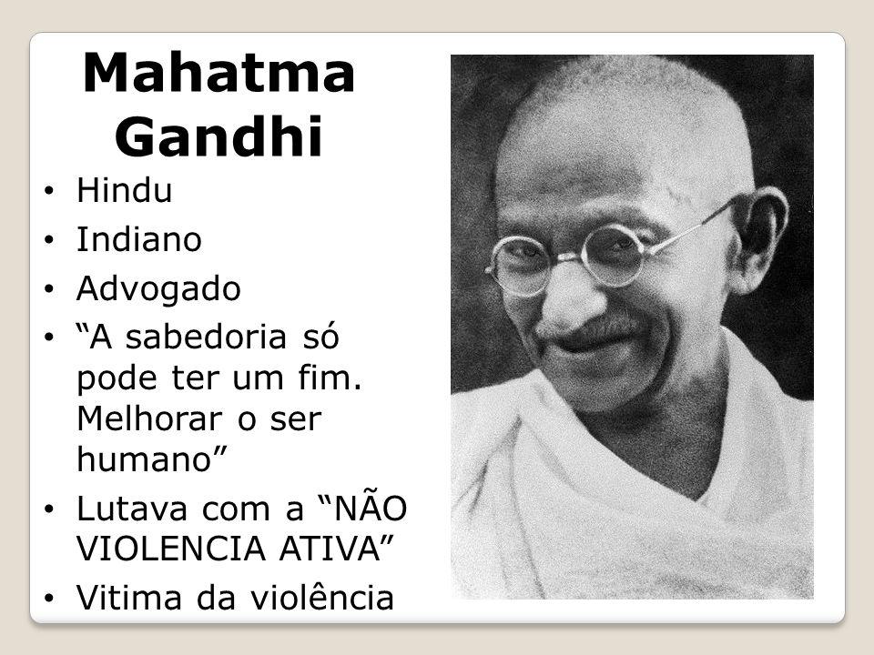 Mahatma Gandhi Hindu Indiano Advogado